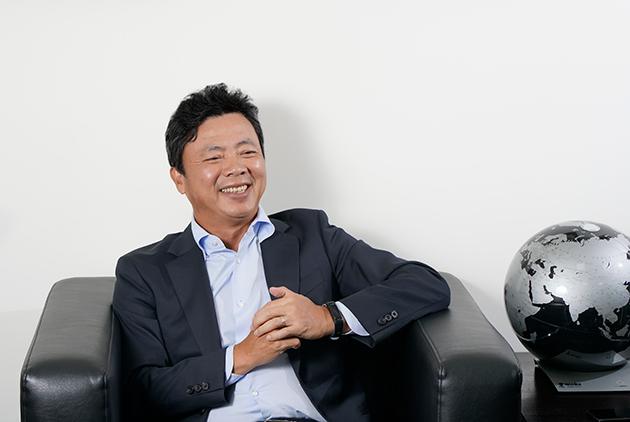 崇越科技執行長 李正榮