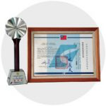 In 2003, TOCPO received the 11th Award for Industrial Technology Advancement from the Ministry of Economic Affairs, R.O.C.