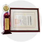 """In 1998 & 1999, TOPCO received the """"Customer Satisfaction Golden Prize"""" from the Chinese Economics Trade Research & Development Association"""