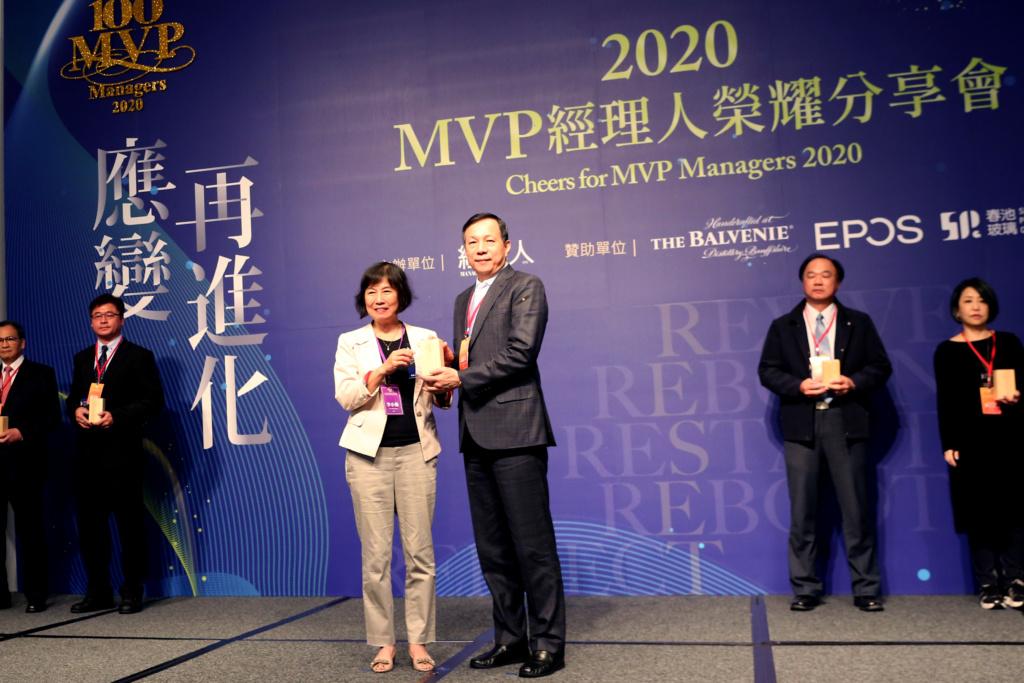 安永鲜物总经理黄盈文(右)获选为2020年度《经理人杂志》产品创新类百大MVP经理人。